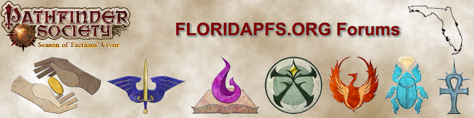 Pathfinder Society of Florida